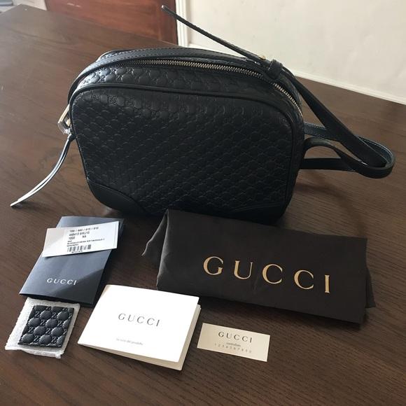 a4d4d4d53f5b Gucci Bags | Nwt Bree Ssima Black Disco Crossbody | Poshmark